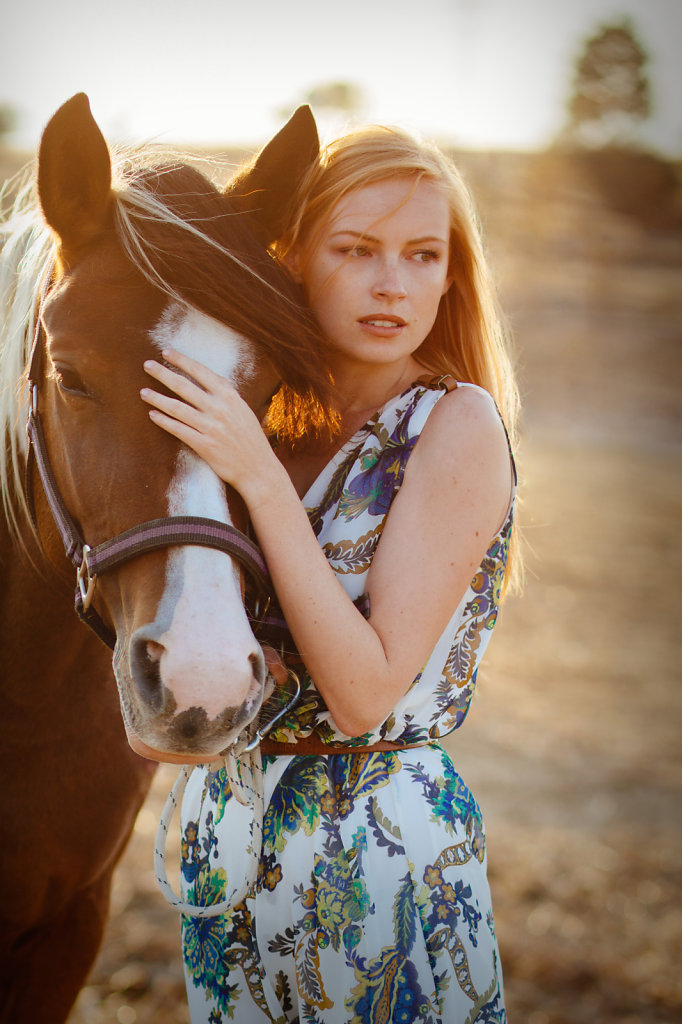 A girl and her horse 2